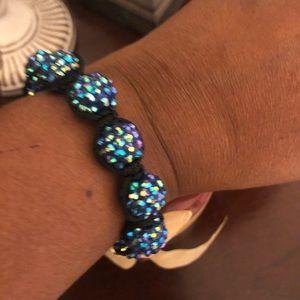 Multi Color Blue Bracelet.